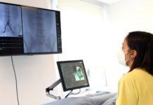 A empresa achégase á medicina personalizada ao proporcionar indicadores de diagnose por métodos non invasivos, mediante reconstrución de imaxes TAC e modelos de dinámica de fluxo. Foto: Santi Alvite / USC.